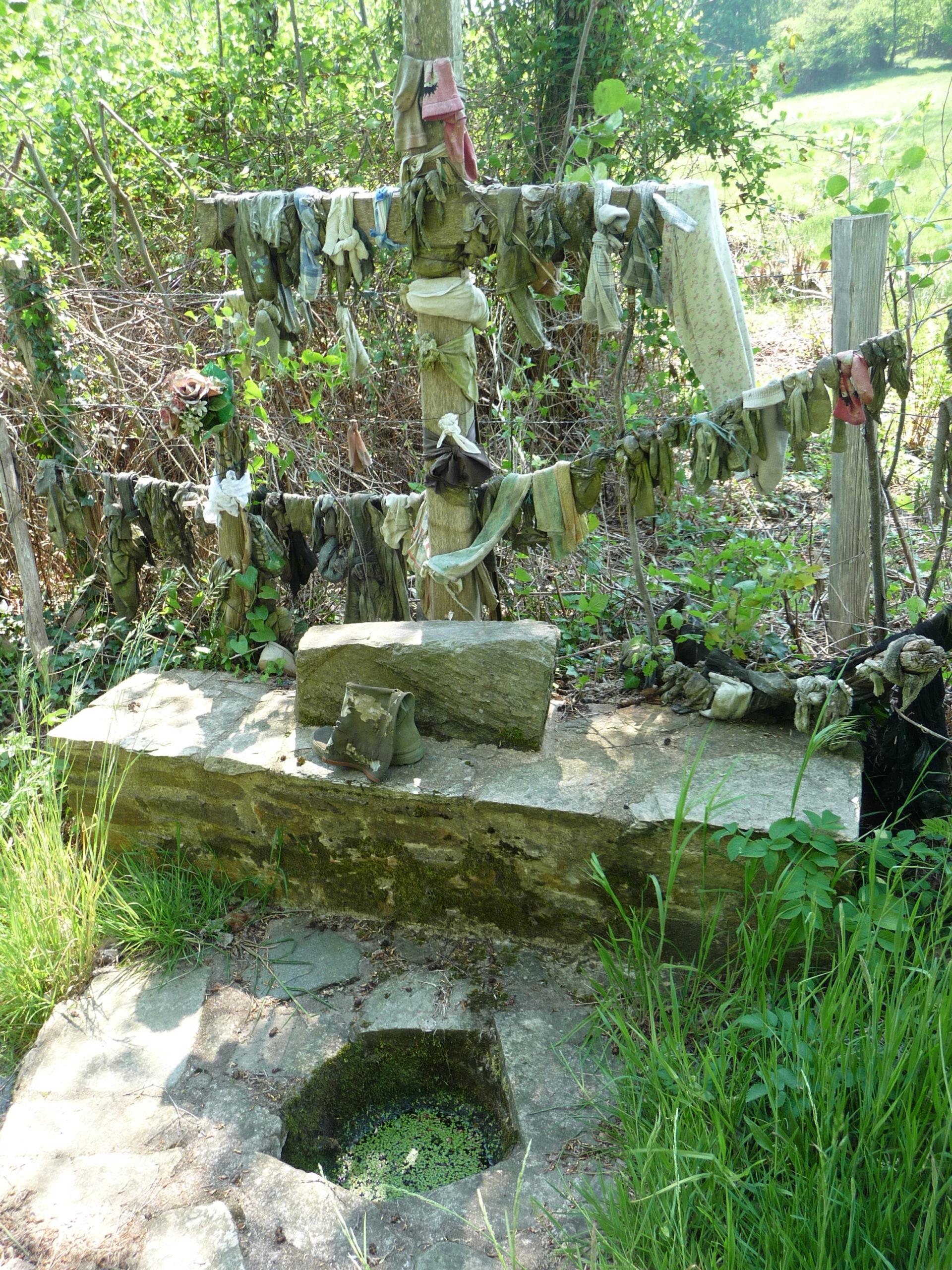 Fontaine Saint-Jean à Cussac. Crédits J.-P. Cavaillé
